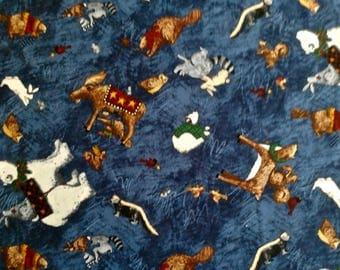 "Frosty Friends fabric 2 yd. x 44"""