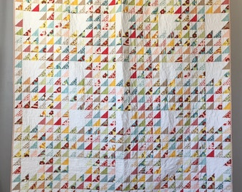 Triangles Quilt Twin Size