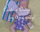 Custom order for Amy ONLY