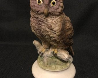 Owl Figurine Lefton Mid Century Collectible Owl SALE