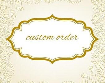 Custom order - personalizēts pasūtījums Martai
