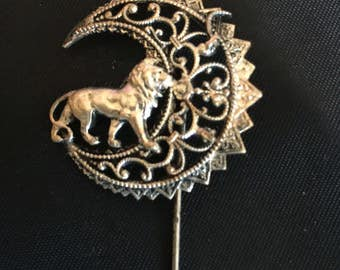 Lion Stick Pin
