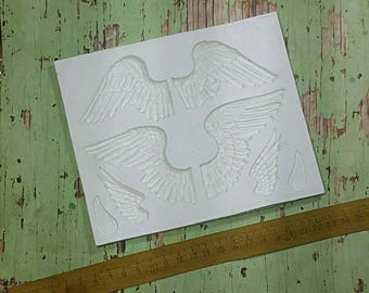 Angel Bird Wing Silicone Mould Rubber