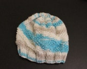 Diamond Knitted Baby Hats
