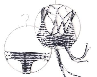 Macramé Tie-Back Bikini   Swimwear   Reversible