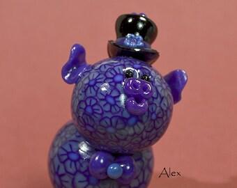 Alex Polymer clay Piglet