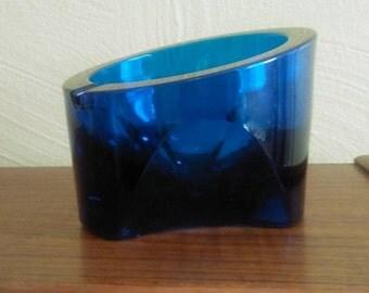 1960's Viking Glass large Ashtray