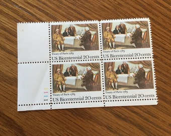 US Bicentennial 20 Cent  Stamps