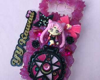 Custom Sailor Moon Prince diamond Wicked lady and more Decoden Whipped cream style phone case for iPhone 4/4s 5 Samsung galaxy and more