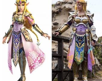 Queen Zelda Hyrule Warriors full costume