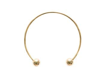 Gold Sphere Collar