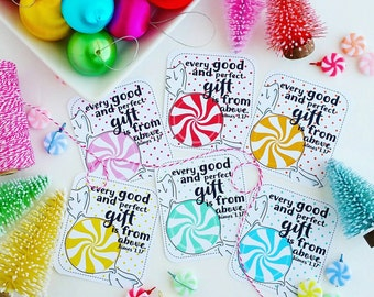 every good and perfect gift James 1.17 / set of 6 journaling / bible journaling cards
