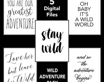 Wild Adventure Pack (downloadable)