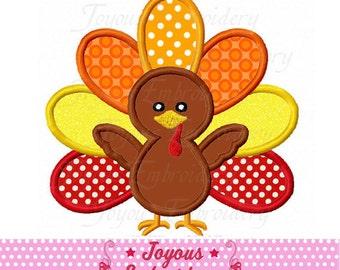 Instant Download Thanksgiving Turkey Applique Embroidery Machine digital Design NO:2221