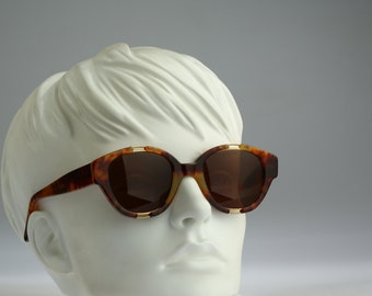 Les Copains Mod 11 Col 299 Hand Made in Italy / Vintage sunglasses / NOS / 90s Rare designer eyewear