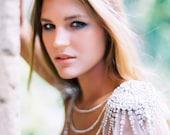 Luxor Couture Crystal Sun Burst Epaulettes