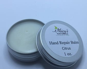 All Natural Hand Repair Balm | 1 oz. tin | Salve | Marula Oil
