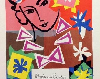"""Matisse 43 """"Bal de-l'ecole des arts decoratifs""""  printed 1959 Mourlot Art in posters"""