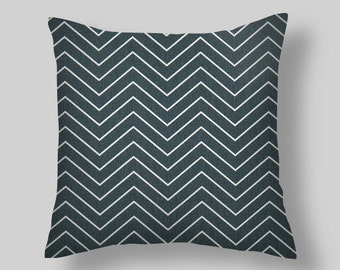 Blue Throw Pillows Covers,Blue Throw Pillows, Throw Pillow Covers 16 18x18 20  Blue Pillow Home and Living,Gunmetal