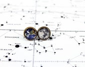 Earth and Moon Earrings