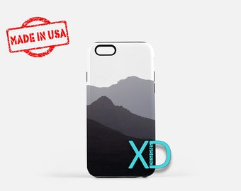 Mountain iPhone Case,  Black and White iPhone Case, Nature iPhone 8 Case, iPhone 6s Case, iPhone 7 Case, Phone Case, iPhone X Case, SE Case