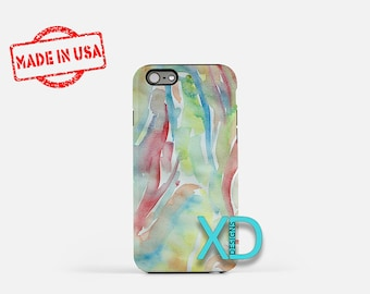 Watercolor Design iPhone Case, Artist iPhone Case, Painting iPhone 8 Case, iPhone 6s Case, iPhone 7 Case, Phone Case, iPhone X Case, SE Case