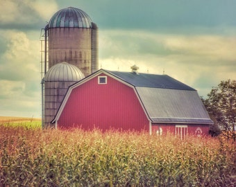 Barn Print, Farm Pictures, Barn Picture, Farm Prints, Barn Photography, Red Barn, Farm Picture, Barn Prints, Country Decor, Barn Photo, Farm