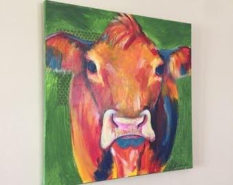 Cow 20x20