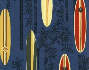 Surfboards Slate - Transpacific Textiles - 701-3821 SLATE (sold by the 1/2 yard)