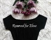 Reserved for Elene
