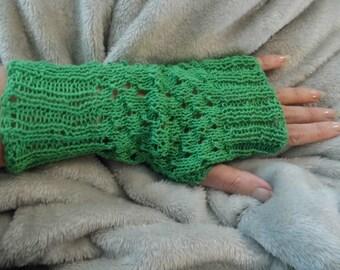 Fancy Fingerless Hand Gloves/Hand Warmers