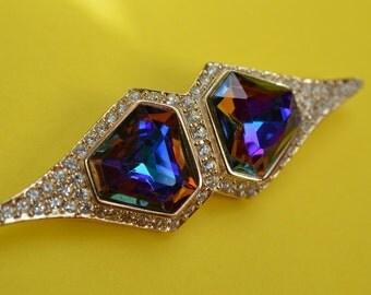 Vintage Haute Couture Oscar De La Renta Brooch Pin