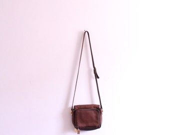 Soft Brown Leather 90s Bag