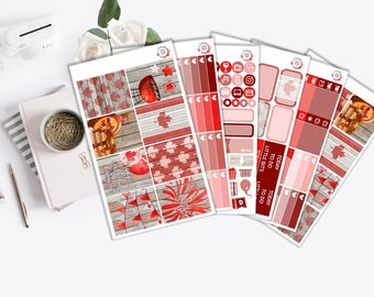Canada Day Vertical Weekly Kit - ECLP Stickers