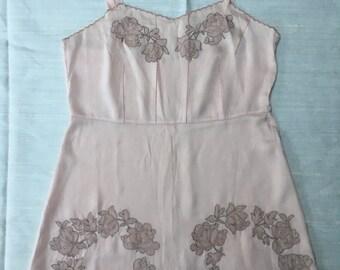 Valentines Vintage 1920s Silk Teddy Camisole Rare