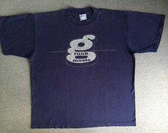 G FUNK Era Continues Shirt 1995 Vintage/ 90s Summer Jam Festival Def Jam Dove Shack Twinz/ Warren G Regulate Hip Hop Rap Music UsA X-Large