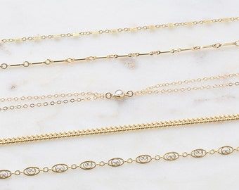 Gold Choker Necklace, Simple Choker, Choker Necklace, 14K Gold Filled Choker, Dainty Gold Necklace, Choker Chain, Girlfriend Gift Necklace