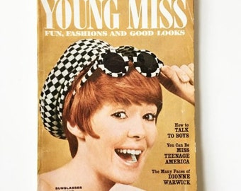 Vintage Young Miss YM Magazine July 1967