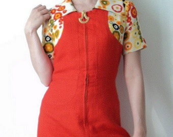 Swinging Sixties 60s Mod Twiggy Vintage dress