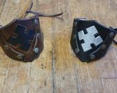 Locust cuff - Gears of War inspired - Leather cuff