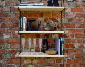 Loop Contemporary Handmade Shelving System
