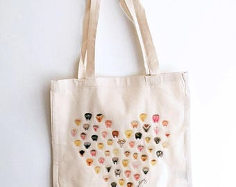 Tote Bag • Vulva Heart • The Vulva Gallery