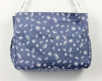 Large diaper bag, Large baby bag, Large nappy bag, Grey diaper bag, Grey nappy bag, Travel bag, Overnight bag, Baby bag, Diaper bag