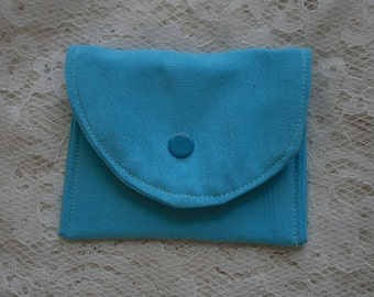 Fabric Credit Card Holder Small Coin Purse Gift Card Holder