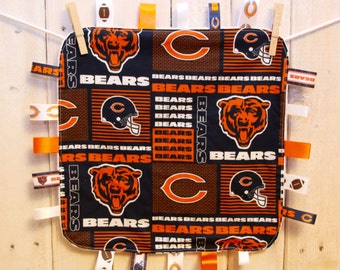 Chicago Bears Ribbon Blankie