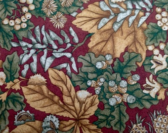 Harvest Reflections by Lynette Jensen/Thimbleberries for RJR Fabrics/Quilting Sewing Fabric Large Scale Botanical Print/HALF Yard Pricing