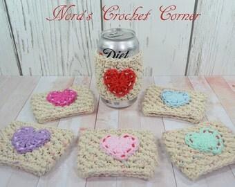 Crochet Cup Cozy, Mug Cozy, Coffee cozy, Drink Sleeve