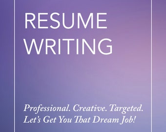 Custom resume writing keywords