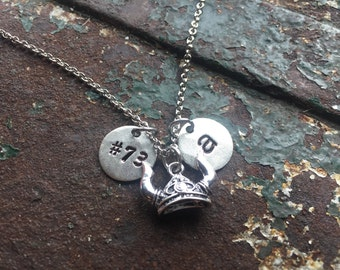 Viking Initial Necklace