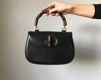 60s Iconic designer GUCCI 'Bamboo' handbag